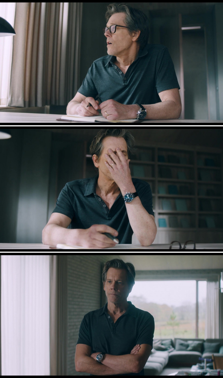 Kevin Bacon Wears Tag Heuer Calibre 16 Men's Wrist Watch in You Should Have Left 2020 Film (1)