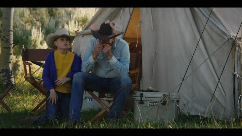 Kevin Costner as John Dutton Using Yeti Coolers in Yellowstone Season 3 Episode 2