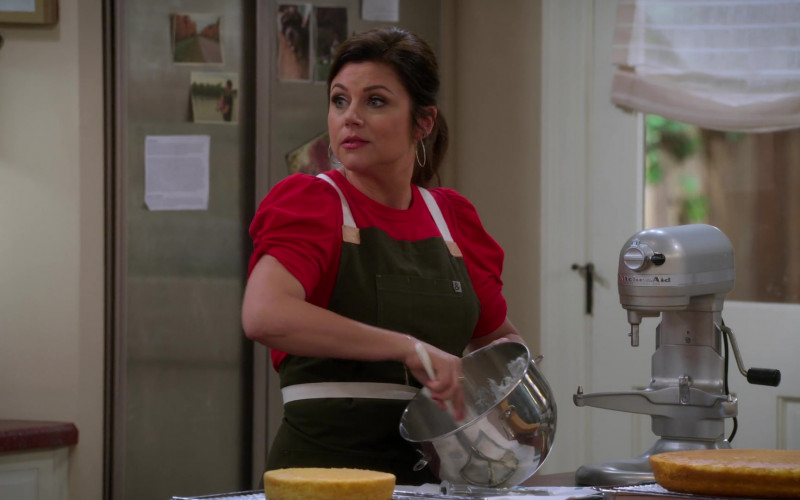 KitchenAid Stand Mixer Used by Tiffani Thiessen as Lori in Alexa & Katie S04E06 (1)