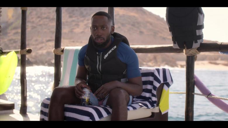 Lamorne Morris as Sean Drinks Corona Beer in Desperados 2020 Netflix Comedy Movie (1)