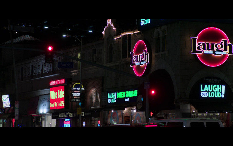 Laugh Factory Comedy Club at Night Spotted in 2 Minutes of Fame Movie (1)