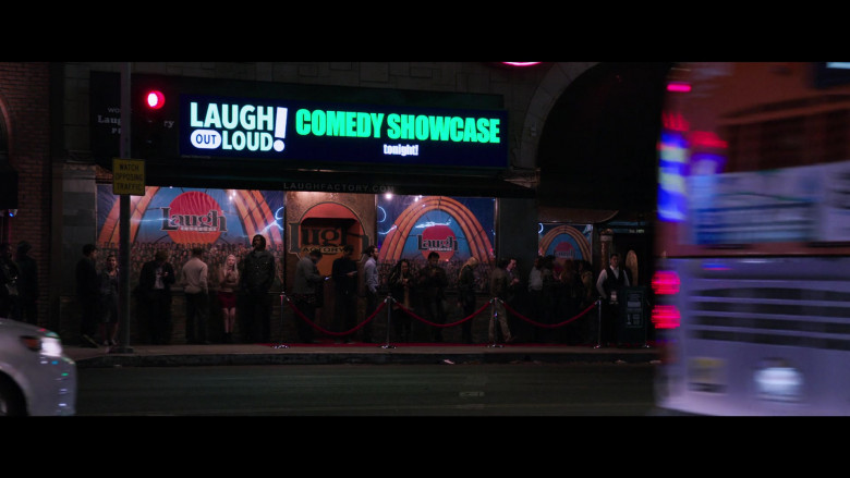 Laugh Factory Comedy Club at Night Spotted in 2 Minutes of Fame Movie (3)