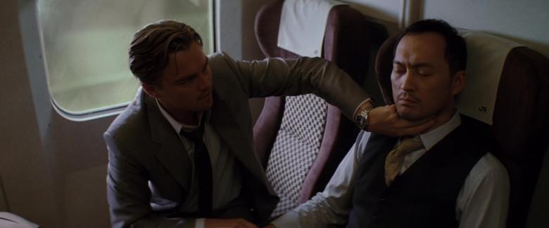 Leonardo DiCaprio as Cobb Wears TAG Heuer Carrera Automatic Men's Wrist Watch in Inception Movie (3)