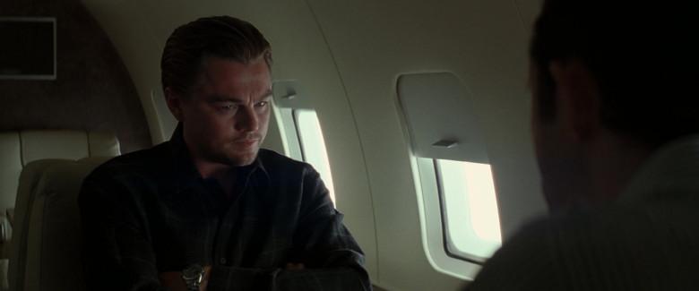 Leonardo DiCaprio as Cobb Wears TAG Heuer Carrera Automatic Men's Wrist Watch in Inception Movie (4)