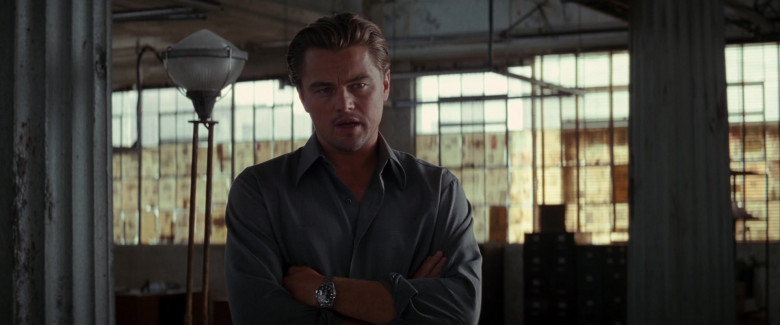 Leonardo DiCaprio as Cobb Wears TAG Heuer Carrera Automatic Men's Wrist Watch in Inception Movie (6)