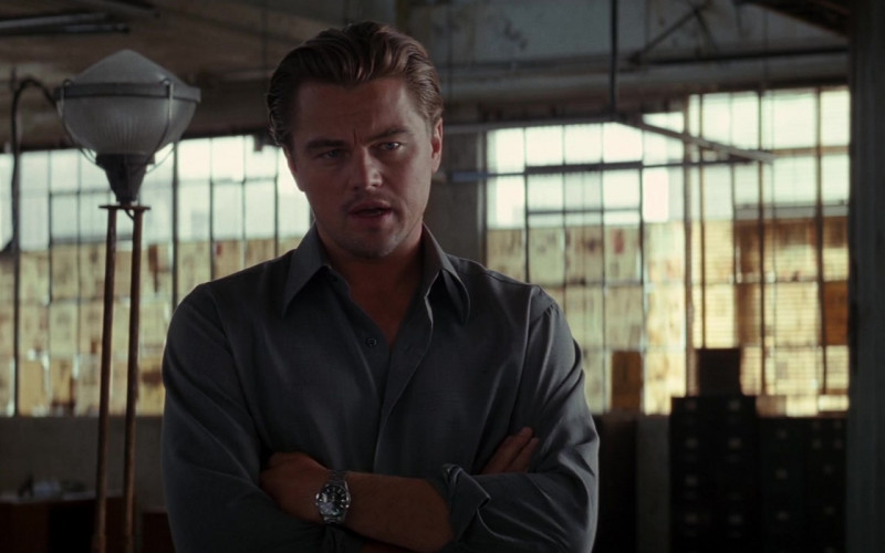 Leonardo DiCaprio as Cobb Wears TAG Heuer Carrera Automatic Men's Wrist Watch in Inception Movie (6)
