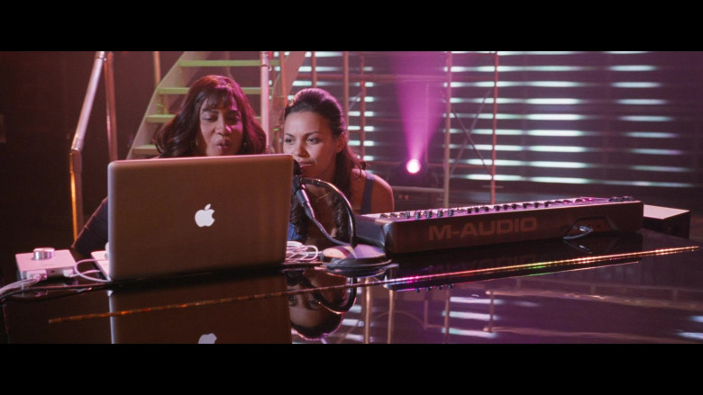 M-Audio Keyboard and Apple MacBook Laptop in Big Mommas Like Father, Like Son (1)