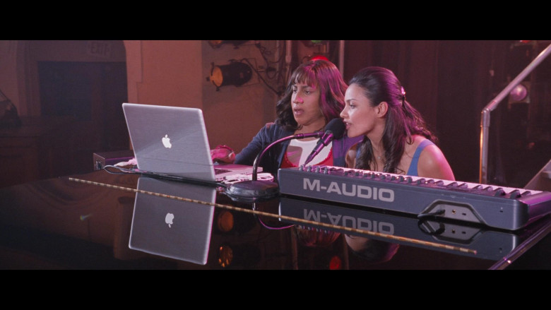 M-Audio Keyboard and Apple MacBook Laptop in Big Mommas Like Father, Like Son (2)