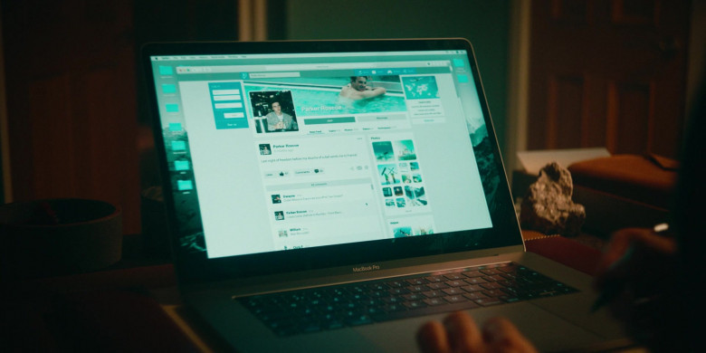 MacBook Pro Laptop by Apple in Alex Rider S01E01 (2020)