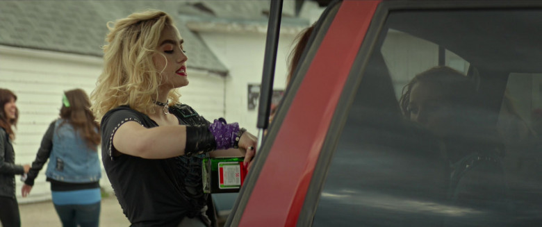 Maddie Hasson Enjoying Jägermeister Liquor in We Summon the Darkness Movie (1)