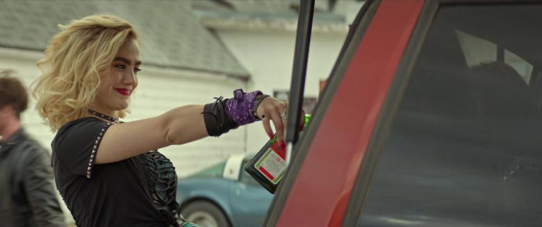 Maddie Hasson Enjoying Jägermeister Liquor in We Summon the Darkness Movie (3)