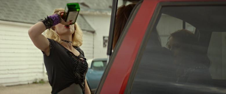 Maddie Hasson Enjoying Jägermeister Liquor in We Summon the Darkness Movie (5)