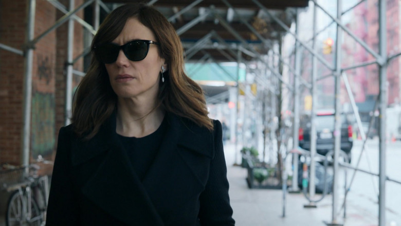 Maggie Siff as Wendy Rhoades Wearing Persol Women's Sunglasses Billions S05E06 TV Show (3)