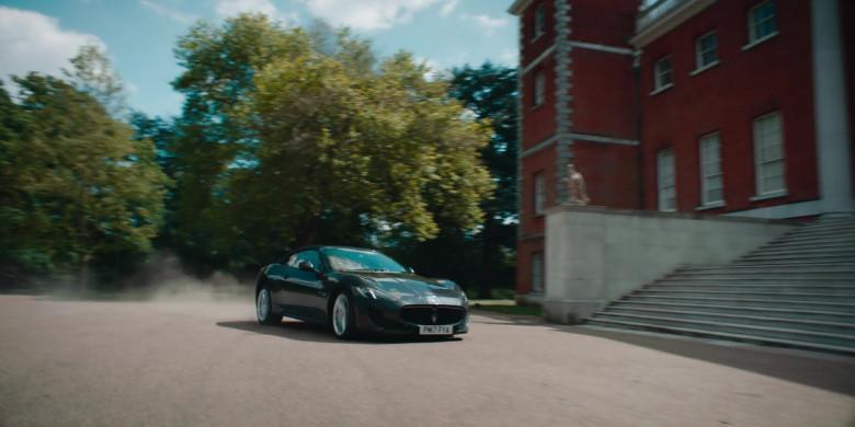 Maserati GranTurismo Convertible Sports Car in Alex Rider S01E03 (1)