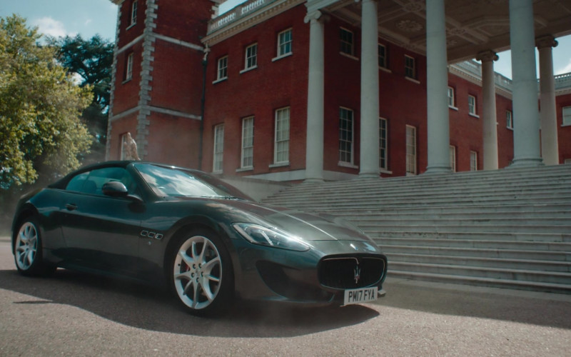 Maserati GranTurismo Convertible Sports Car in Alex Rider S01E03 (2)