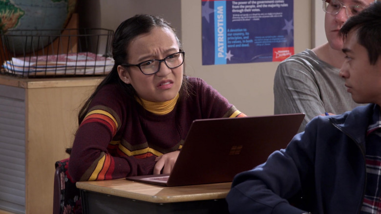 Microsoft Surface Laptop in Mr. Iglesias S02E05 Food for Thought (2020)