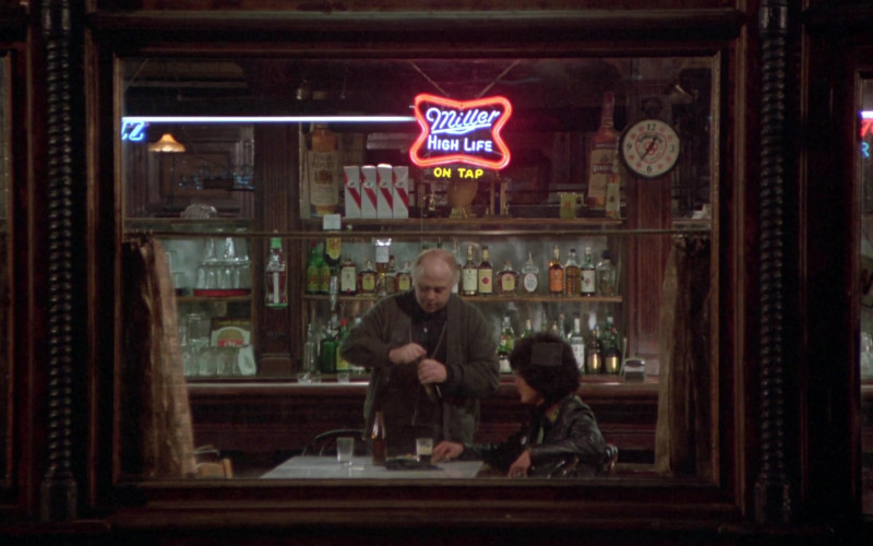 Miller High Life, Coca-Cola, Four Roses Bourbon, J&B in Once Upon a Time in America (1)