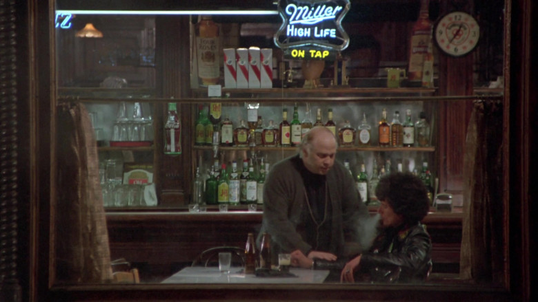 Miller High Life, Coca-Cola, Four Roses Bourbon, J&B in Once Upon a Time in America (2)