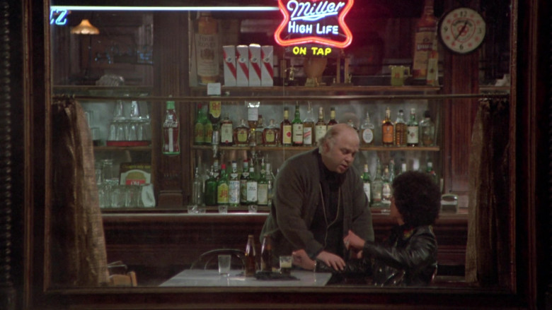 Miller High Life, Coca-Cola, Four Roses Bourbon, J&B in Once Upon a Time in America (3)