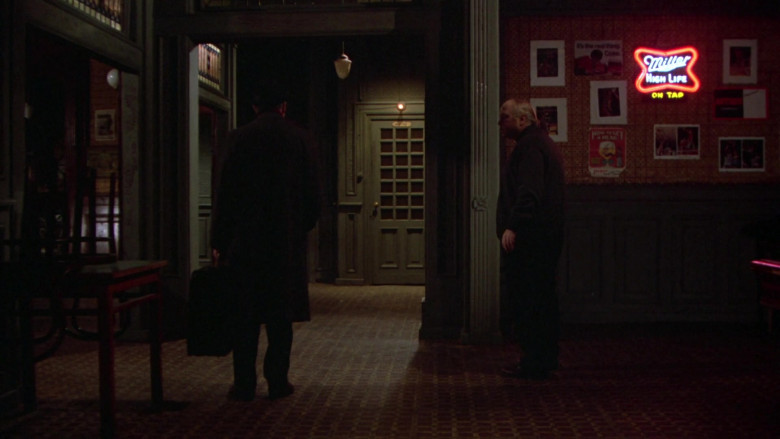 Miller High Life On Tap Beer Neon Sign in Once Upon a Time in America (1984)