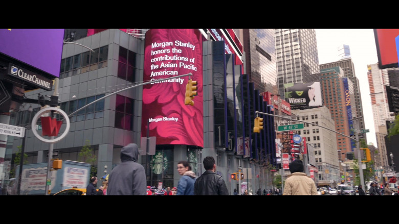 Morgan Stanley in Feel the Beat (2020)