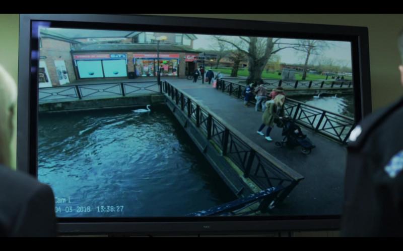 NEC TV in The Salisbury Poisonings Episode 1 (2020)
