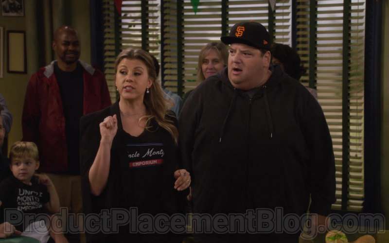 New Era 950 MLB Basic Team Color SAN Francisco Giants Snapback Cap in Fuller House S05E14 (1)