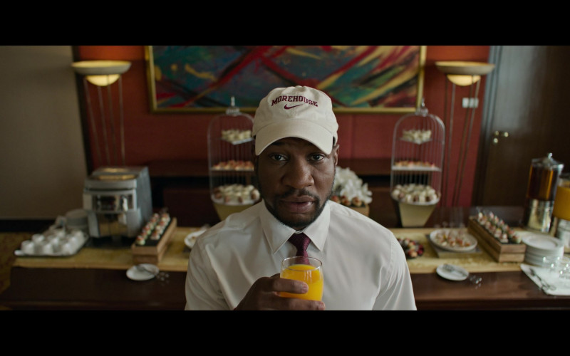 Nike Morehouse College Cap Worn by Jonathan Majors as David in Da 5 Bloods (2020)
