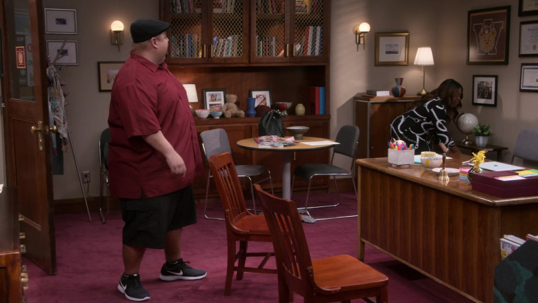 Nike Shoes of Gabriel 'Fluffy' Iglesias as Gabriel 'Gabe' Iglesias in Mr. Iglesias S02E03