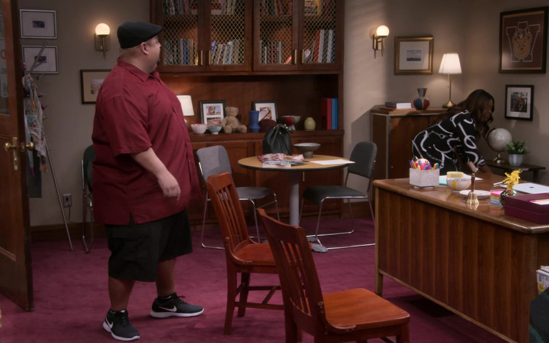 Nike Shoes of Gabriel 'Fluffy' Iglesias as Gabriel 'Gabe' Iglesias in Mr. Iglesias S02E03