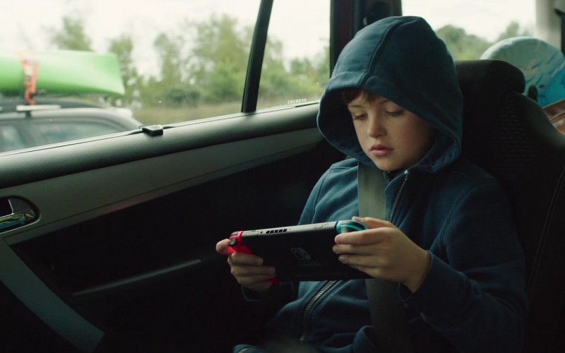Nintendo Switch Console Used by Billy Jenkins in Four Kids and It (2)