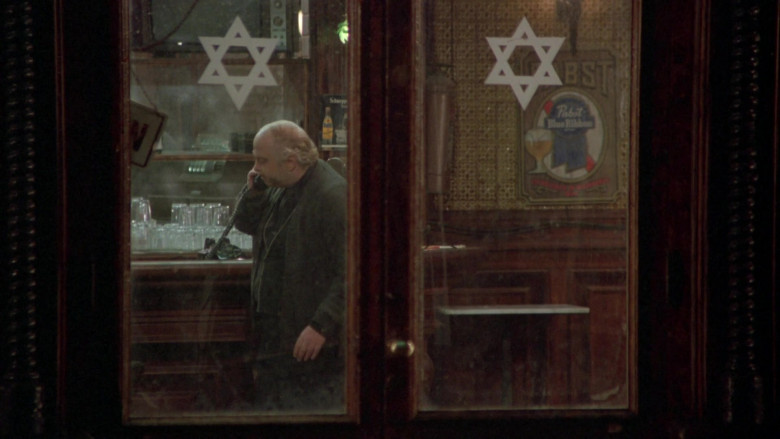 Pabst Blue Ribbon Beer Signs in Once Upon a Time in America FIlm (1)