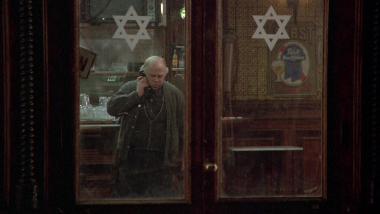 Pabst Blue Ribbon Beer Signs in Once Upon a Time in America FIlm (2)