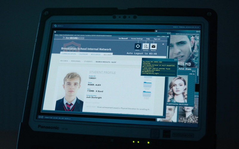 Panasonic CF-33 Notebook in Alex Rider S01E08 (2020)