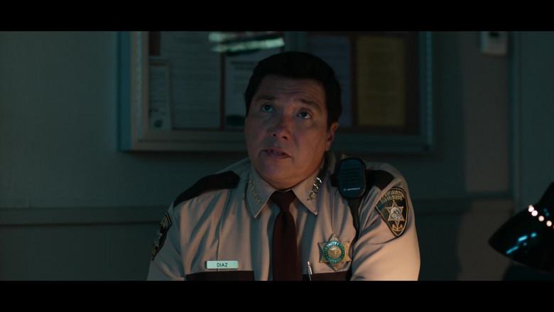 Police Officer Using Motorola Radio in 13 Reasons Why S04E01 Winter Break (2020)