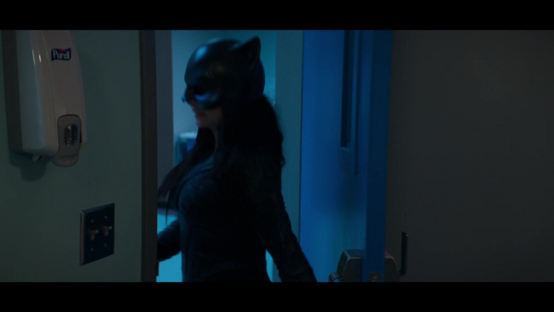 Purell Hand Sanitizer Wall Dispenser in Stargirl S01E04 Wildcat (2020)