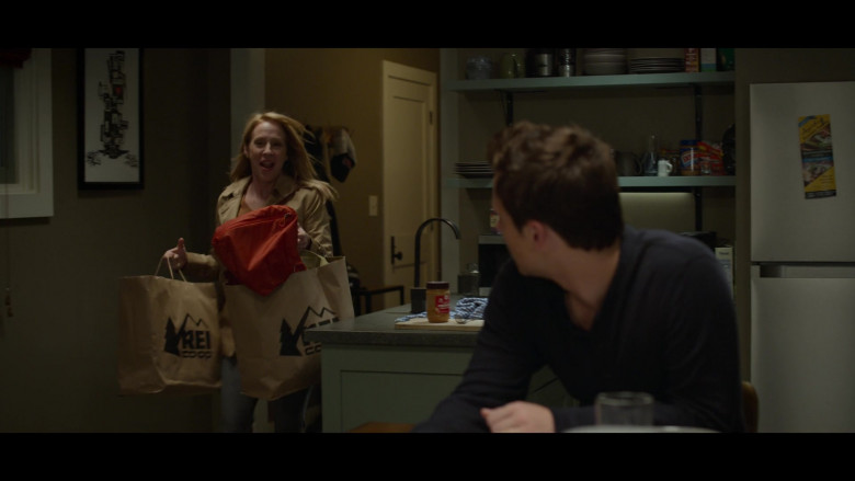 REI Co-op Paper Bags in 13 Reasons Why S04E04 Senior Camping Trip (1)
