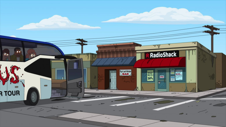 RadioShack Store in American Dad! S17E09 Animated TV Series (1)