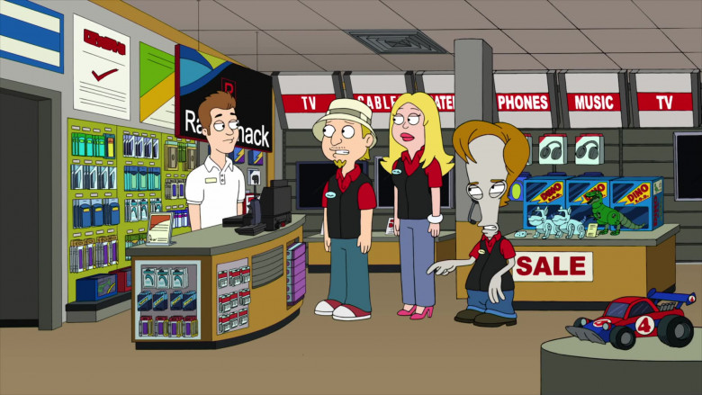 RadioShack Store in American Dad! S17E09 Animated TV Series (2)
