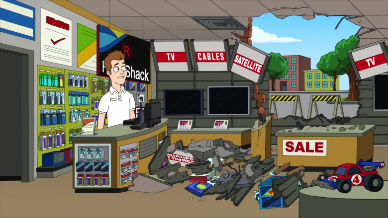 RadioShack Store in American Dad! S17E09 Animated TV Series (3)