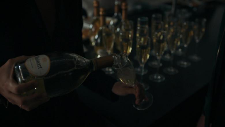 Ruinart Champagne in Billions S05E07 (1)