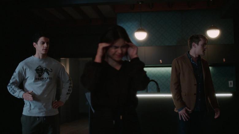 SK8MAFIA Grey Sweatshirt of Adam DiMarco in The Order S02E04