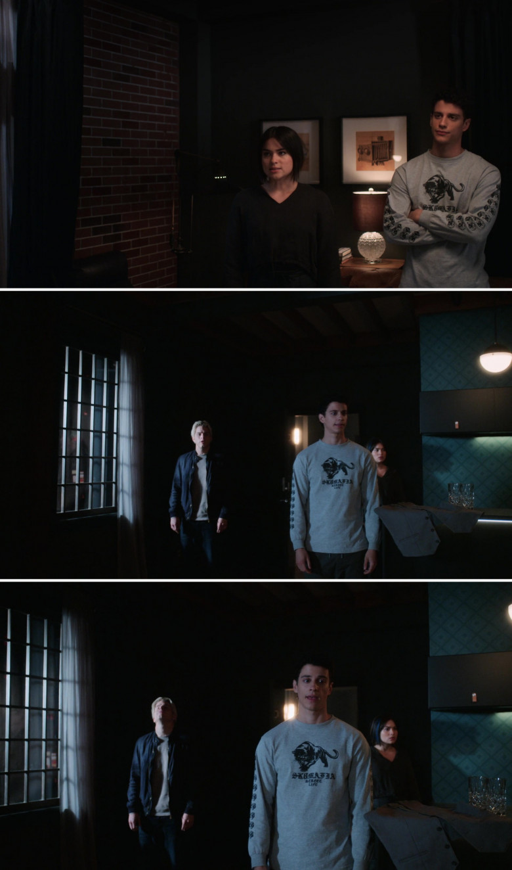 SK8MAFIA Sweatshirt Worn by Adam DiMarco as Randall Carpio in The Order S02E03 (1)