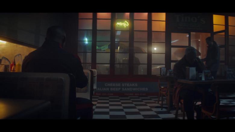 Sabrett Hot Dogs Umbrella Seen in Doom Patrol S02E02 Tyme Patrol TV Series (1)