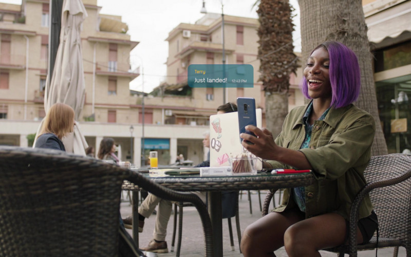 Samsung Galaxy Smartphone Used by Michaela Coel as Arabella in I May Destroy You S01E03