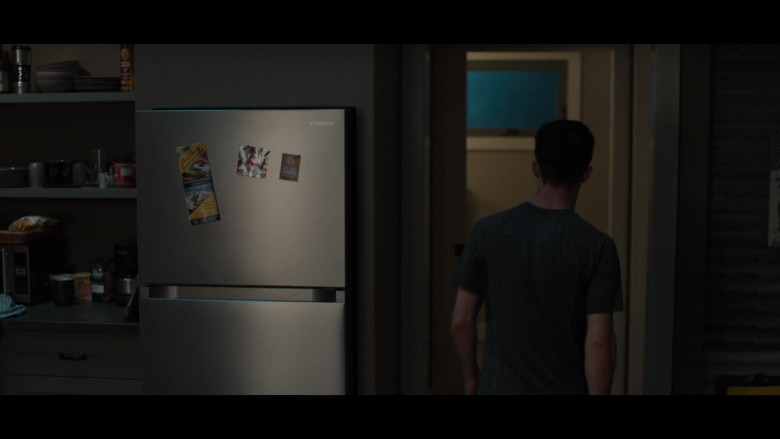 Samsung Refrigerator in 13 Reasons Why S04E05 House Party (2020)