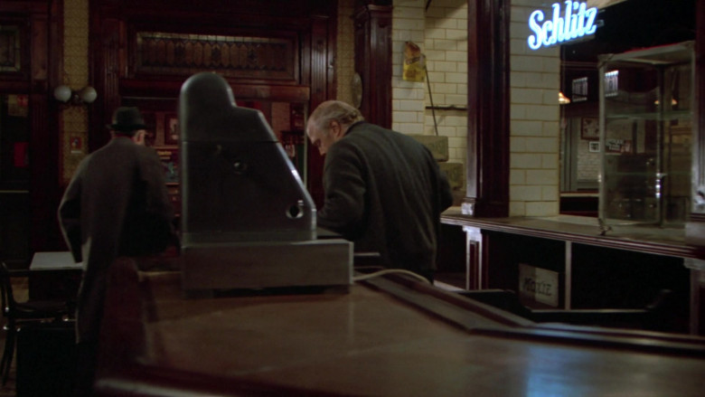 Schlitz Blue Neon Sign in Once Upon a Time in America Movie (1)