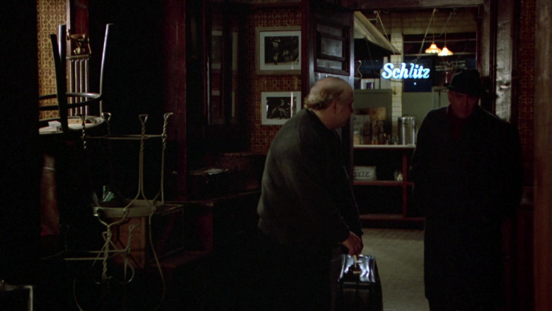 Schlitz Blue Neon Sign in Once Upon a Time in America Movie (2)