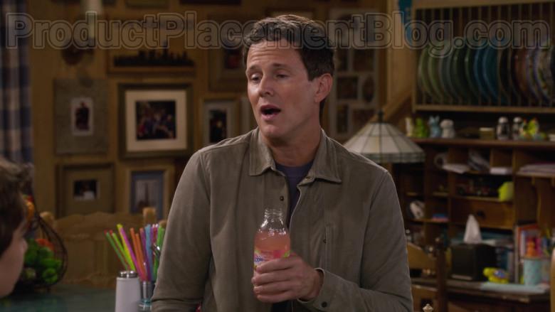 Scott Weinger as Steve Hale Enjoying Snapple Drink in Fuller House S05E11 TV Series (1)