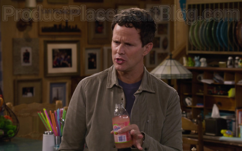Scott Weinger as Steve Hale Enjoying Snapple Drink in Fuller House S05E11 TV Series (2)